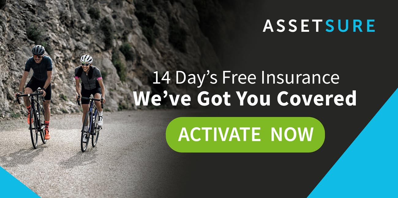 Activate Free Cycle Insurance