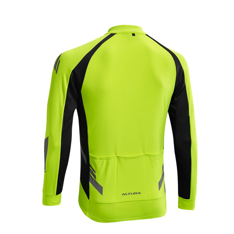 Cycling Yellow 2019 New Fashion Style Online Cycling Clothing Altura Nightvision 4 Long Sleeve Mens Cycling Jersey