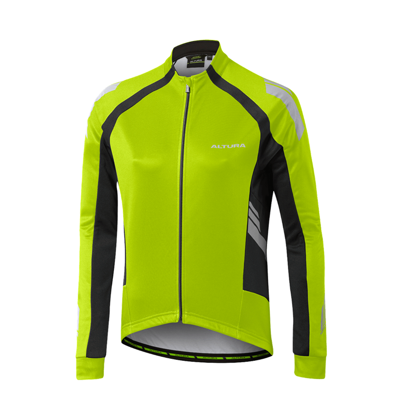Yellow 2019 New Fashion Style Online Jerseys Cycling Clothing Altura Nightvision 4 Long Sleeve Mens Cycling Jersey
