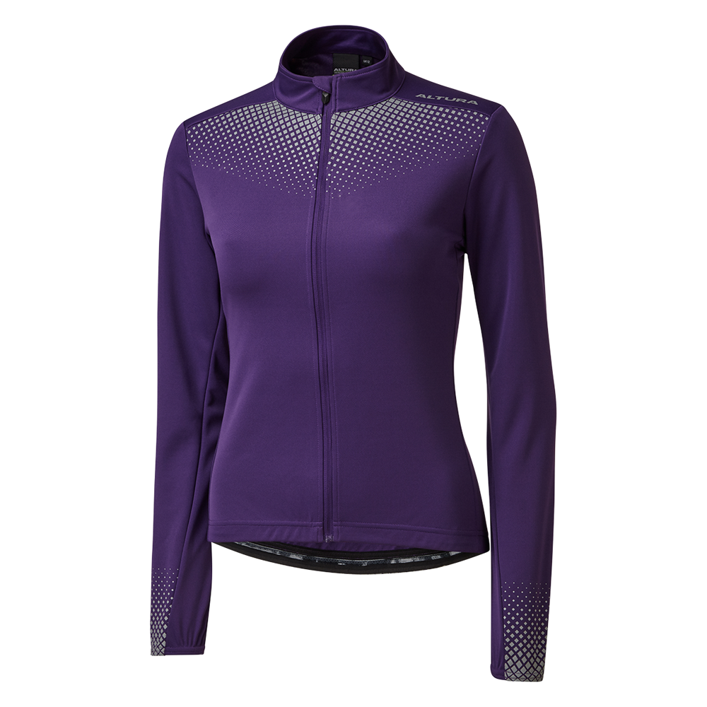 Altura Nightvision Long Sleeve Womens Jersey In Purple