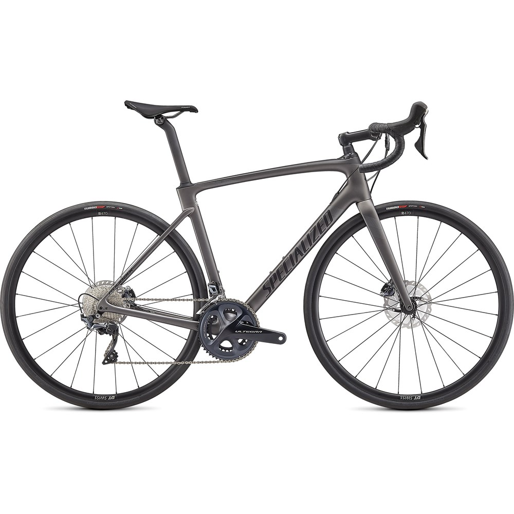 Sport, Leisure & Hobbies 2021 Specialized Roubaix Comp Road Bike in Satin Smoke and Carbon