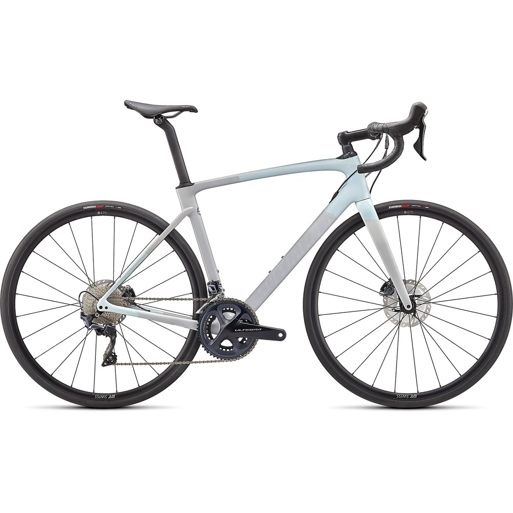 Sport, Leisure & Hobbies 2021 Specialized Roubaix Comp Road Bike in Ice Blue and Dove Grey
