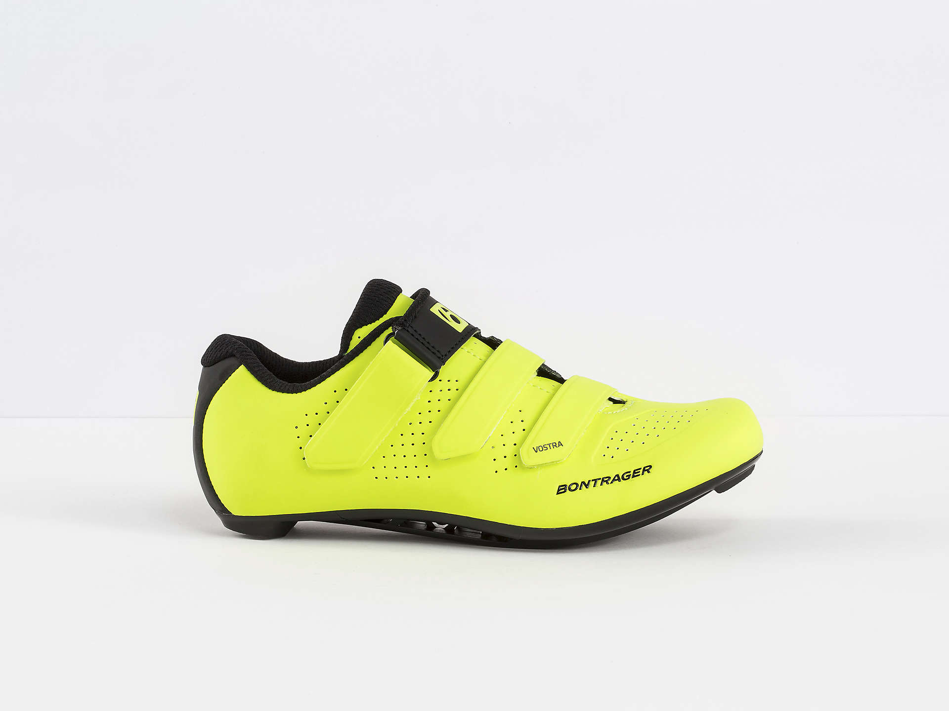 BONTRAGER VOSTRA WOMENS ROAD CYCLING SHOES VISIBILITY YELLOW