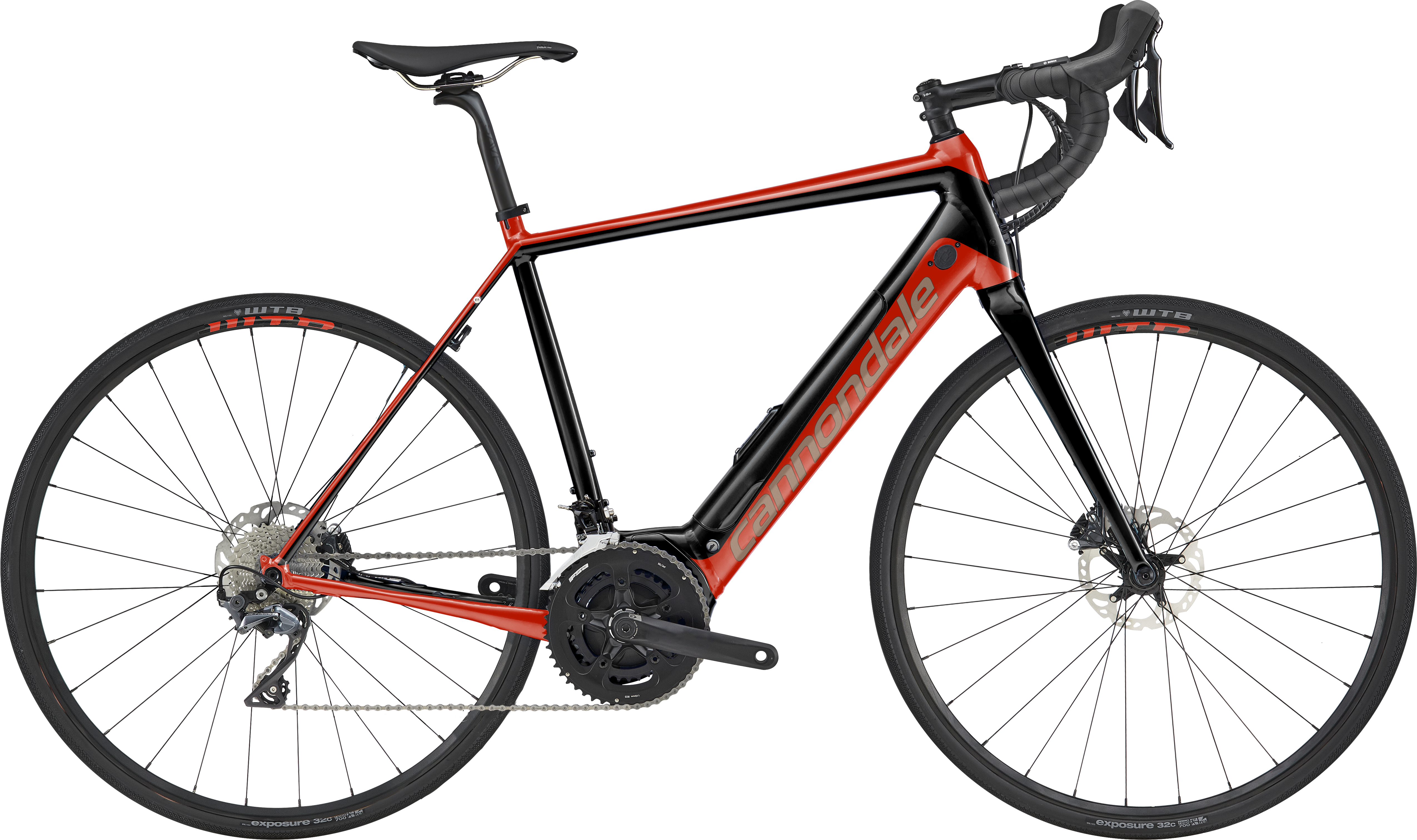 52b1b89336b Cannondale Synapse Neo 2 2019 Electric Road Bike Acid Red £2,799.99