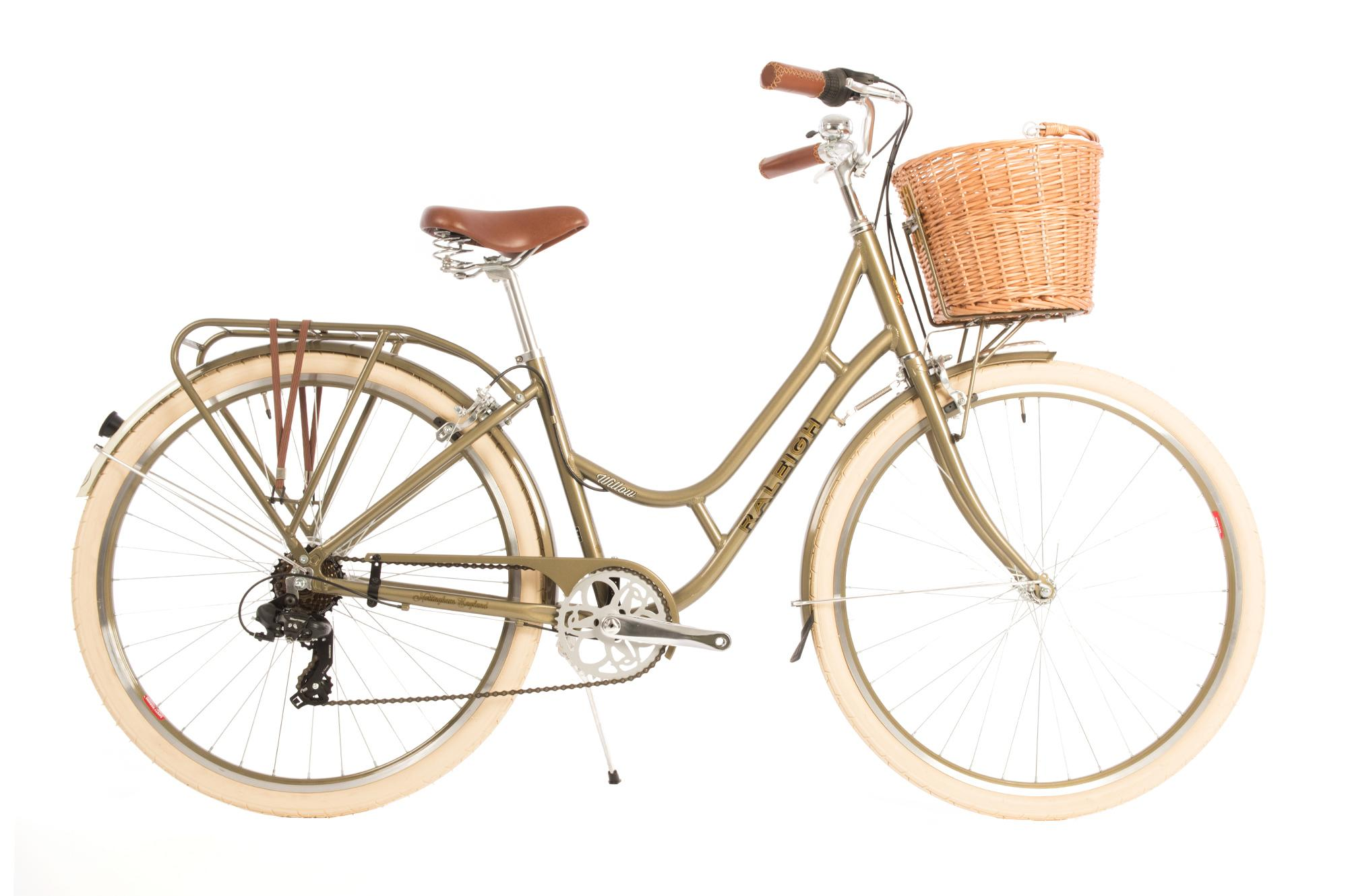 1fd66371017 The 2019 Raleigh Willow is a Women s classic style bike with a low step  frame