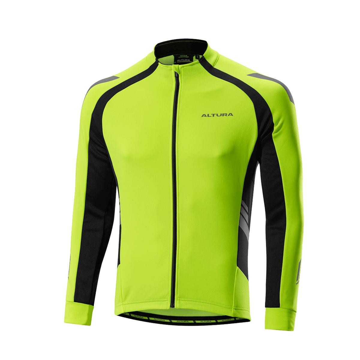 Altura Night Vision 2 Commuter Long Sleeve Jersey Yellow and Black ... d4de21039